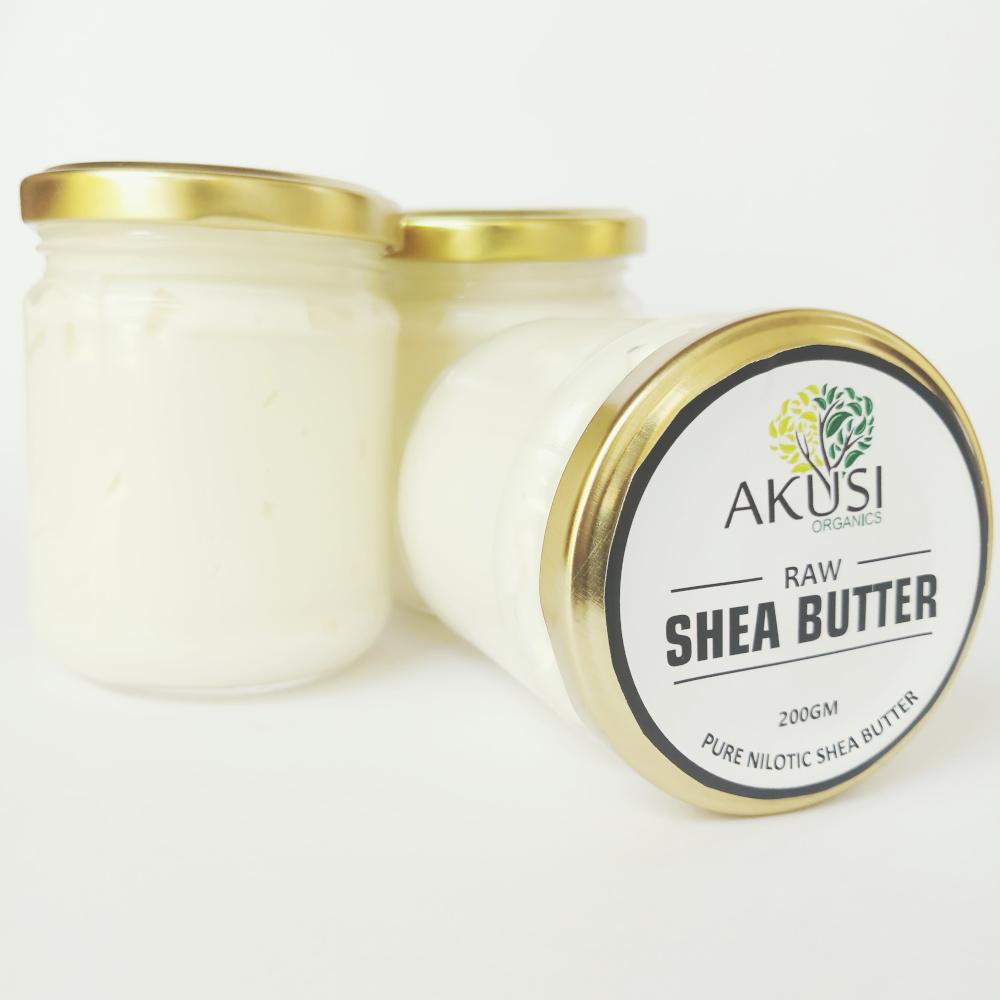 raw nilotic shea butter