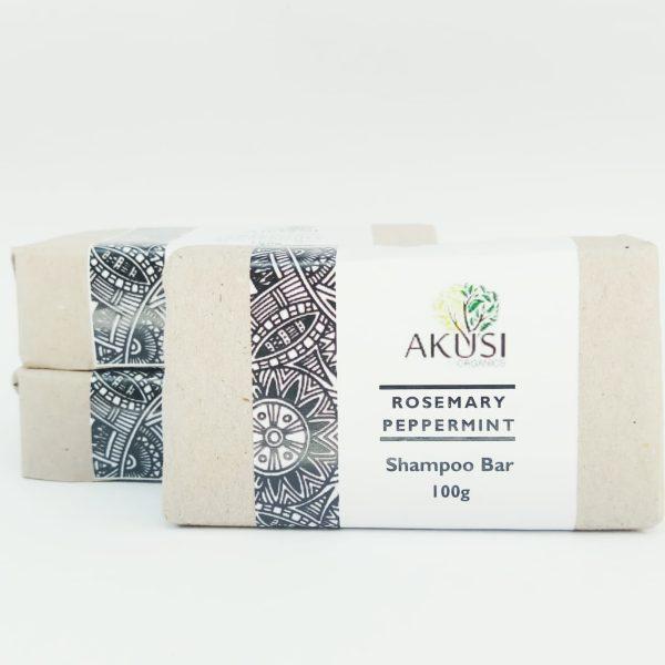 organic rosemary & peppermint shampoo bar kenya