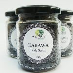 kahawa body scrub made from high grade kenyan coffee