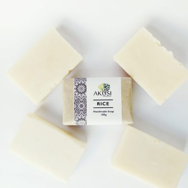 rice soap natural