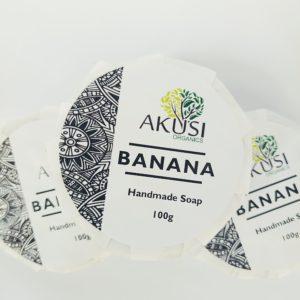 organic banana soap