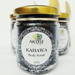 kahawa scrub