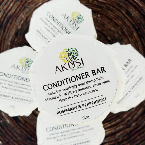 rosemary peppermint conditioner bar