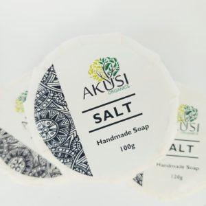 salt scrub soap